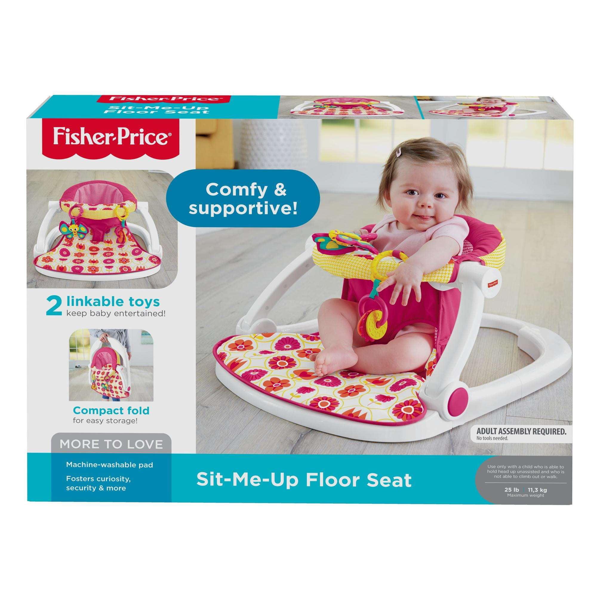 Fisher Price Sit Me Up Floor Seat Walmart
