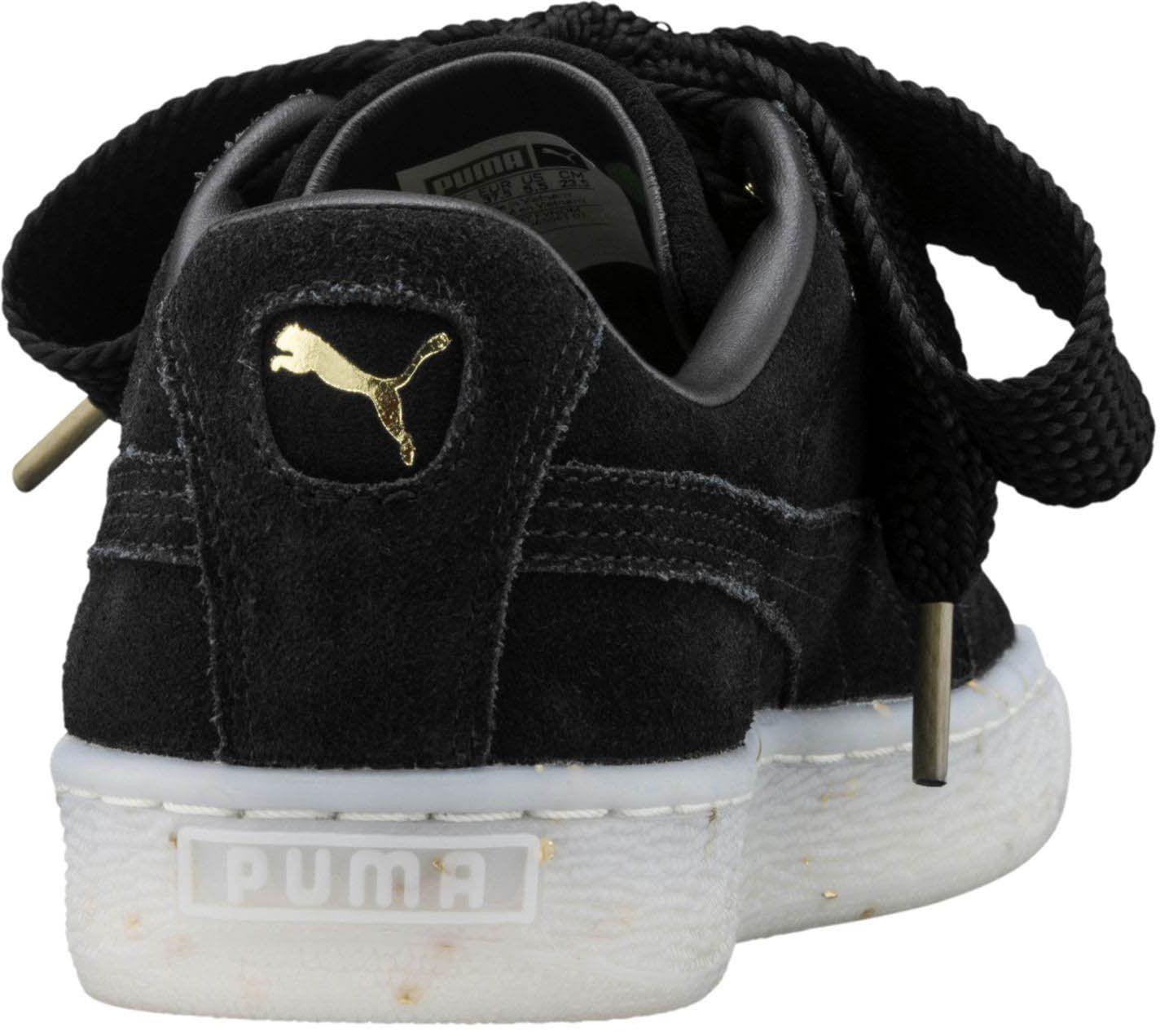 448072e6cfb PUMA - Puma 365561-01  Women s Suede Heart Celebrate Sneaker (8 B(M) US) -  Walmart.com