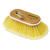 "Shurhold 32923M SHURHOLD 6"" DECK BRUSH SOFT YELLOW POLYSTYRENE"