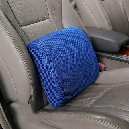 Tryandtry Back Support Cushion Waist Pillow Memory Foam Lumbar Office Home Chair Car