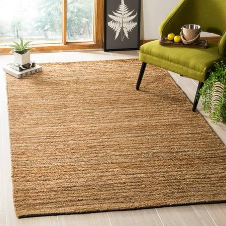 Safavieh Organic Baldric Solid Jute Braided Area Rug ()