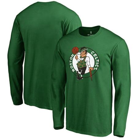 Boston Celtics Kelly Green (Boston Celtics Fanatics Branded Primary Logo Long Sleeve T-Shirt - Kelly Green )