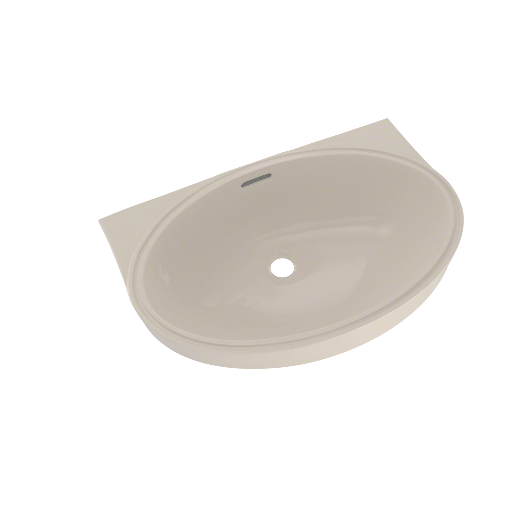 TOTO® Oval Oblong 21-5/8\