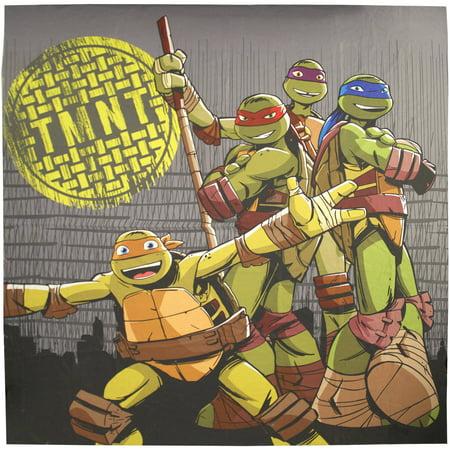 Teenage Mutant Ninja Turtles Cross Hatching Shower Curtain - AAA Discounts And Rewards