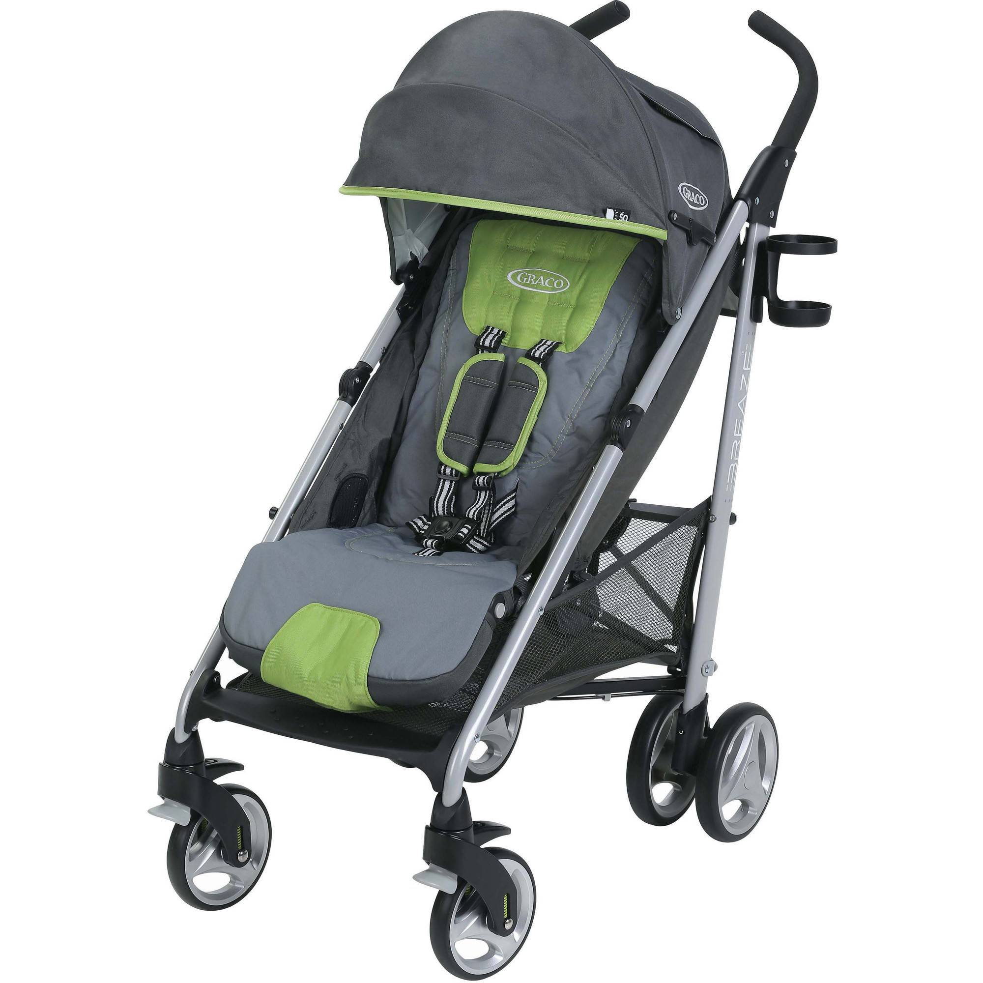 Graco Breaze Click Connect Umbrella Stroller, Piazza by Graco