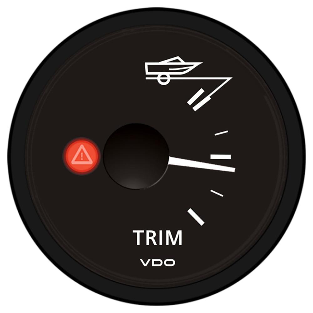 VDO VIEWLINE ONYX TRIM GAUGE 12/24V, MERCURY/VOLVO PENTA/
