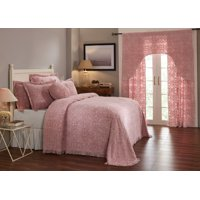 Better Trends Double Wedding Ring Cotton Bedspread Collection