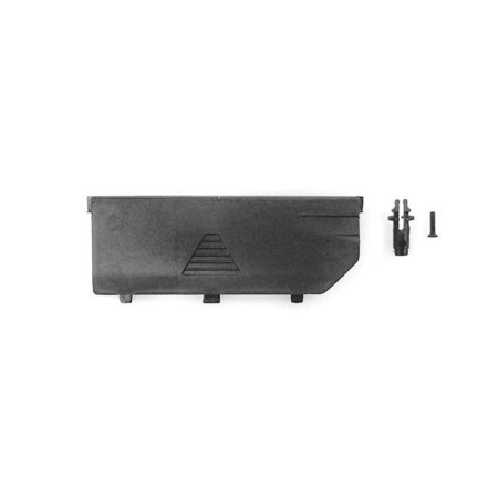 - Carisma CIS15414 GT24B Body Posts & Battery Door Spare Parts Set, Black