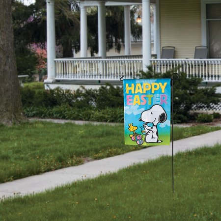 Peanuts Easter Garden Flag for Easter - Home Decor - Outdoor - Banners & Windsocks & Flags - Easter - 1 Piece](Peanuts Garden Flags)