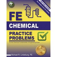Ppi Fe Chemical Practice Problems, 1st Edition (Paperback) - Comprehensive Practice for the Ncees Fe Chemical Exam (Paperback)