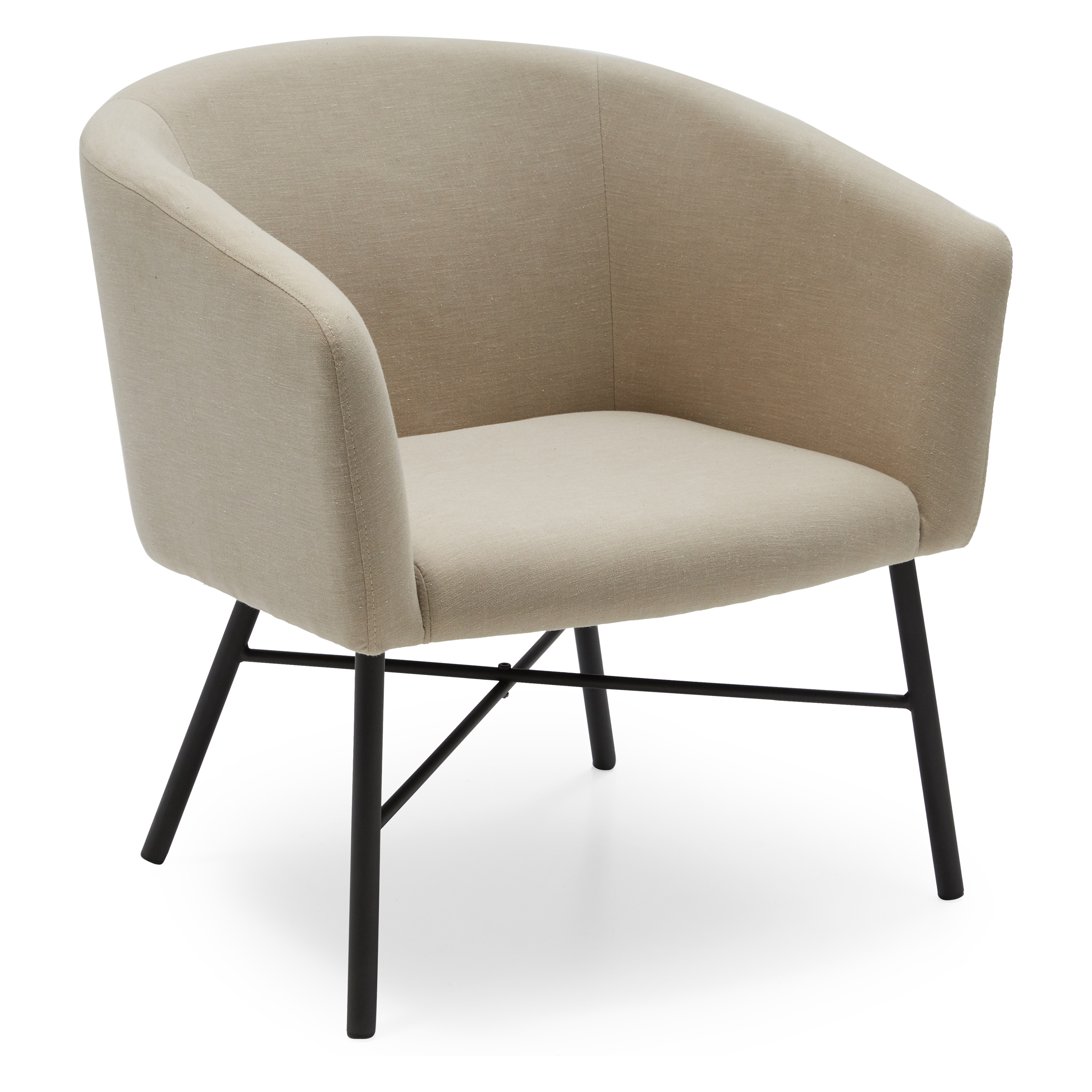 MoDRN Industrial Zoe Lounge Chair, Multiple Colors