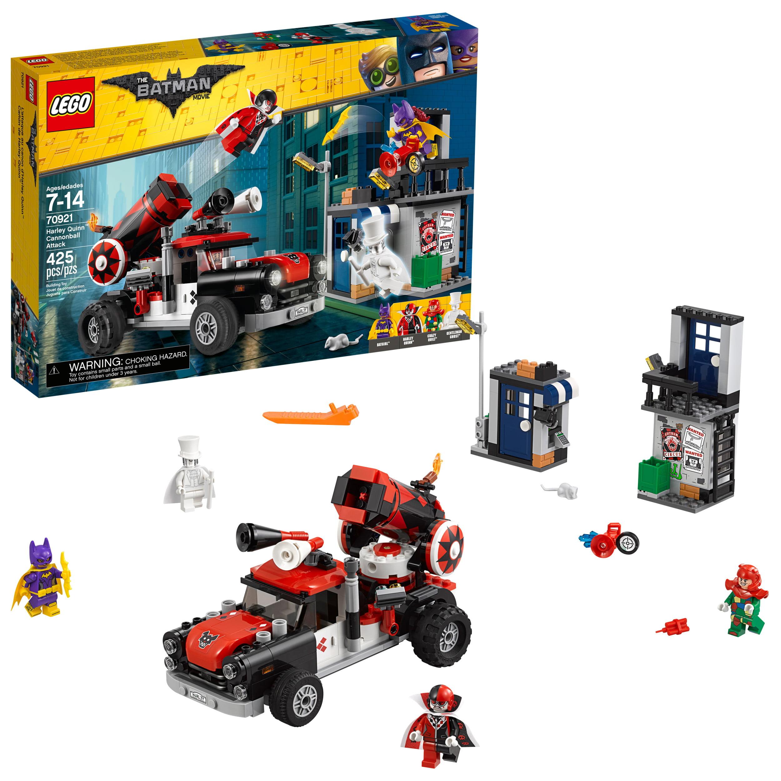 Lego Batman Movie Harley Quinn Cannonball Attack 70921 by LEGO System Inc