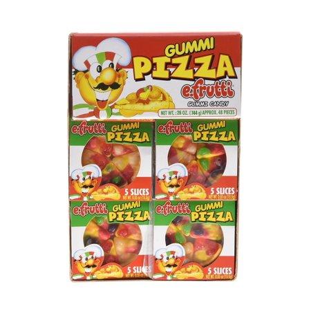 Gummi Pizza (Gummi Pizza by E-Fruitti 48 Count (Net Wt. 26oz) )