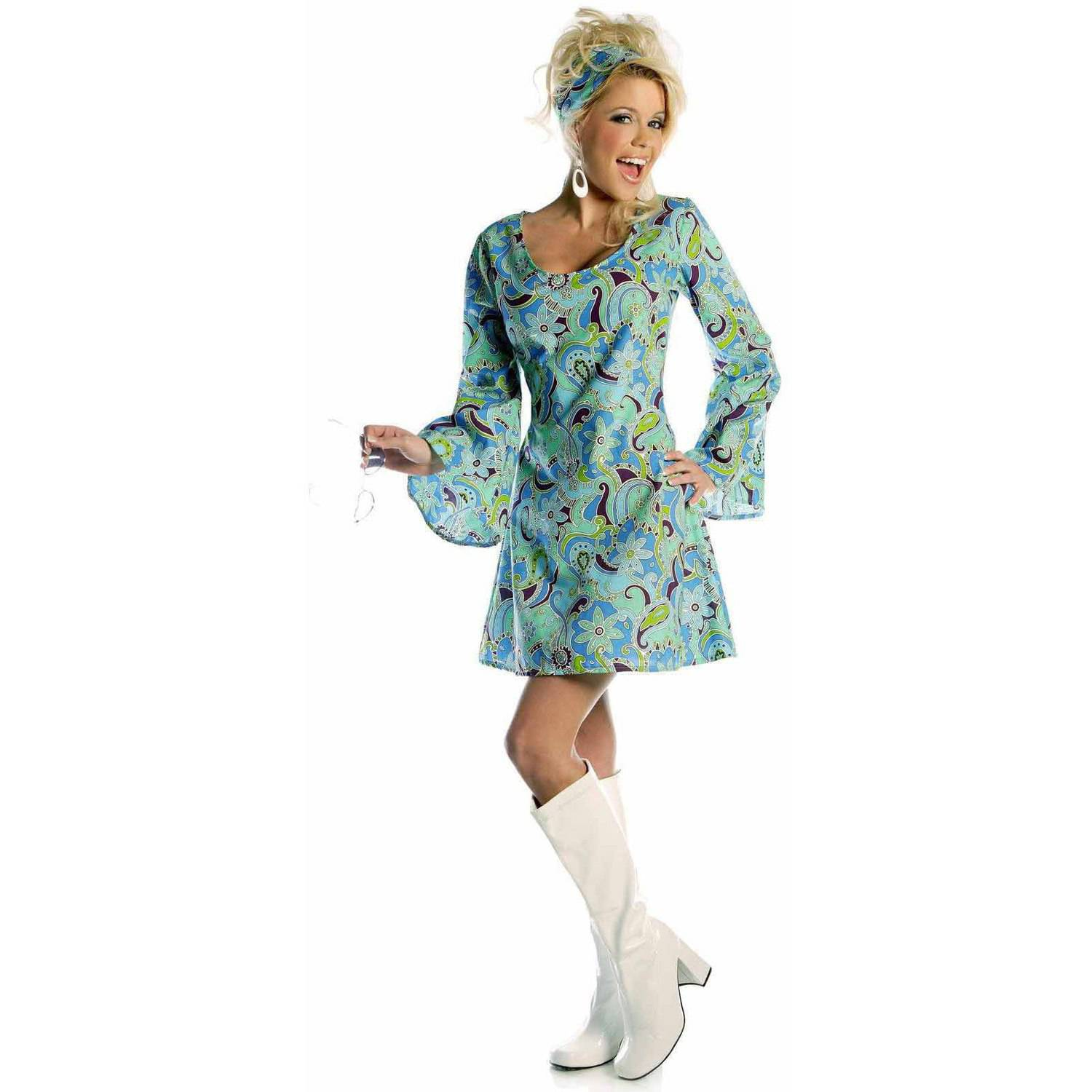 Go Go Blue Women's Adult Halloween Costume