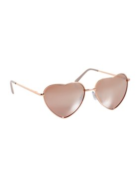 f8f238a22866 Product Image Heart Aviator Sunglasses. maurices