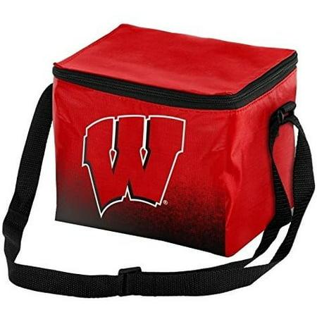 Wisconsin Badgers NCAA 2016 Gradient 6 Pack Cooler (Wisconsin Badgers Tailgate Cooler)