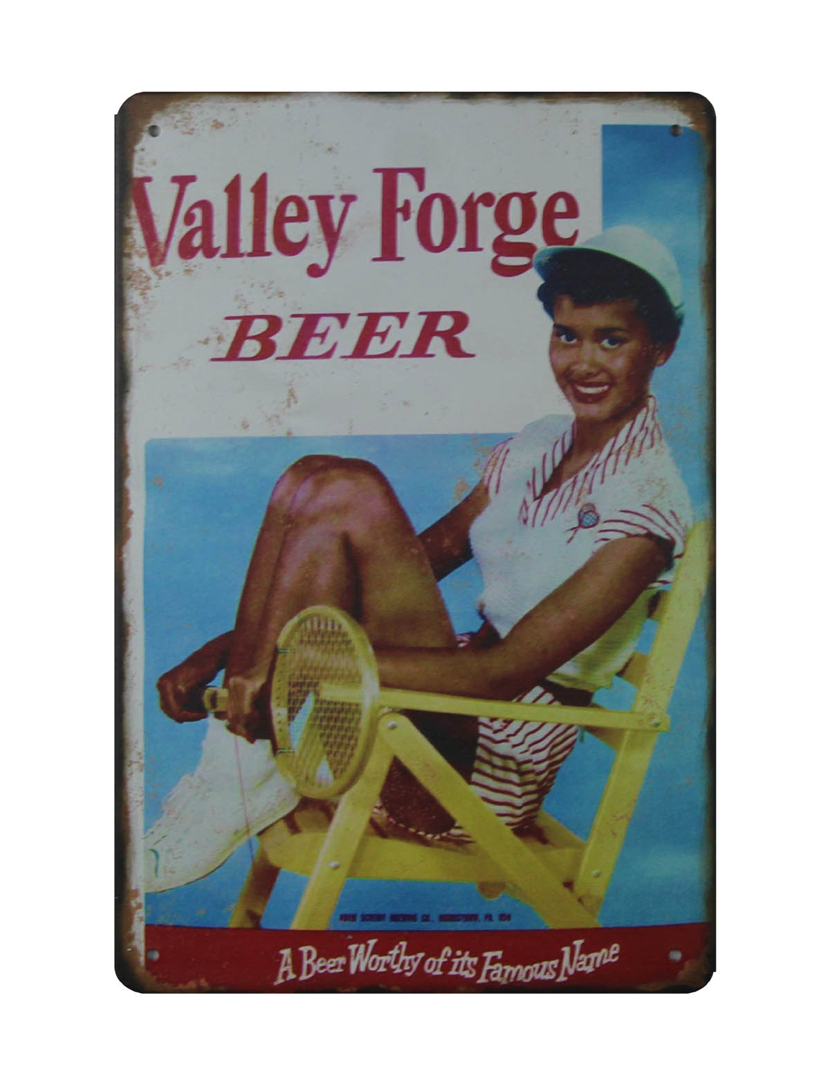 Metal Sign 1890 Buffalo Brewing Company Vintage Look Reproduction