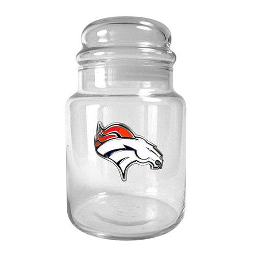 NFL - Denver Broncos 31oz. Glass Candy Jar