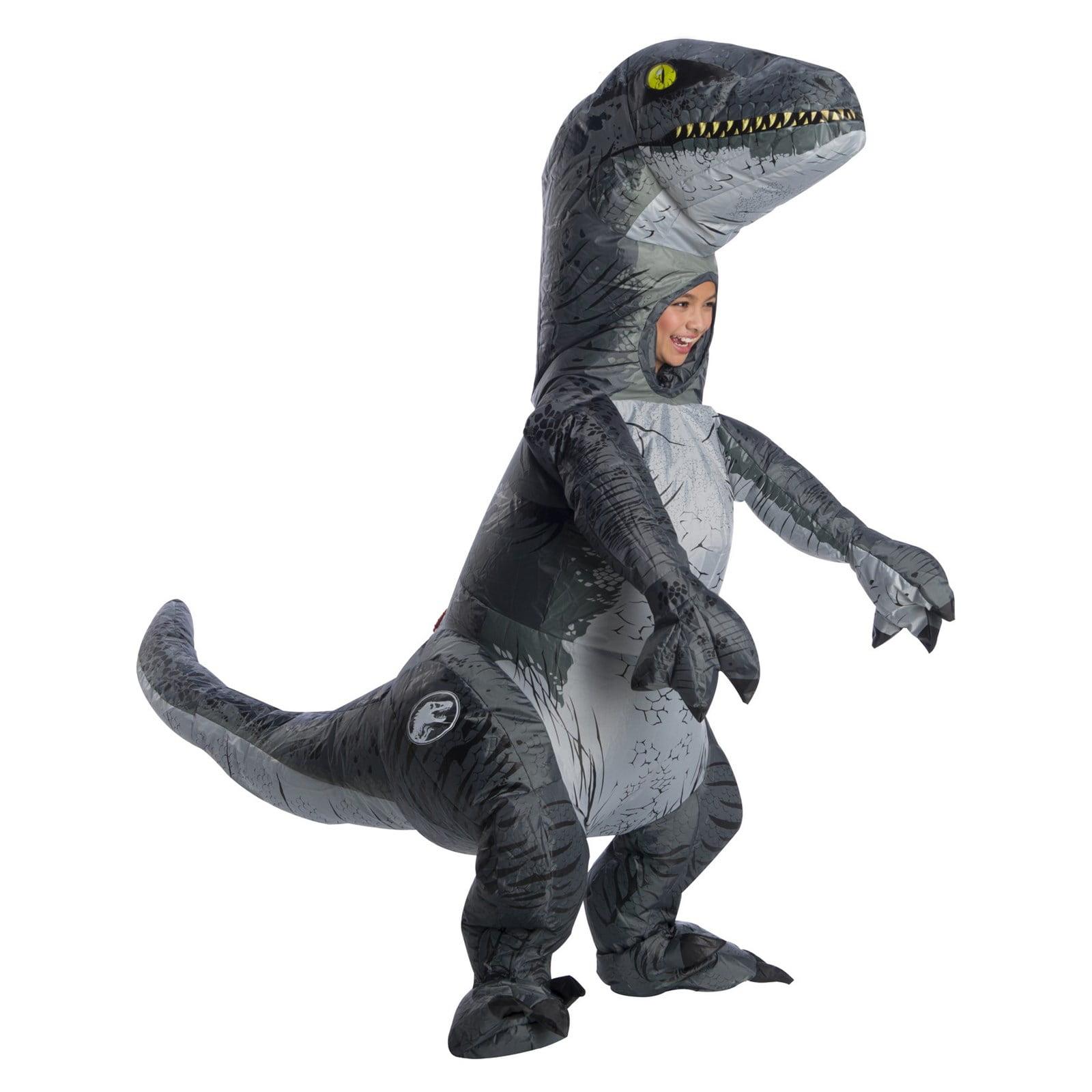 Jurassic World: Fallen Kingdom Childrens Velociraptor Inflatable Halloween Costume With Sound