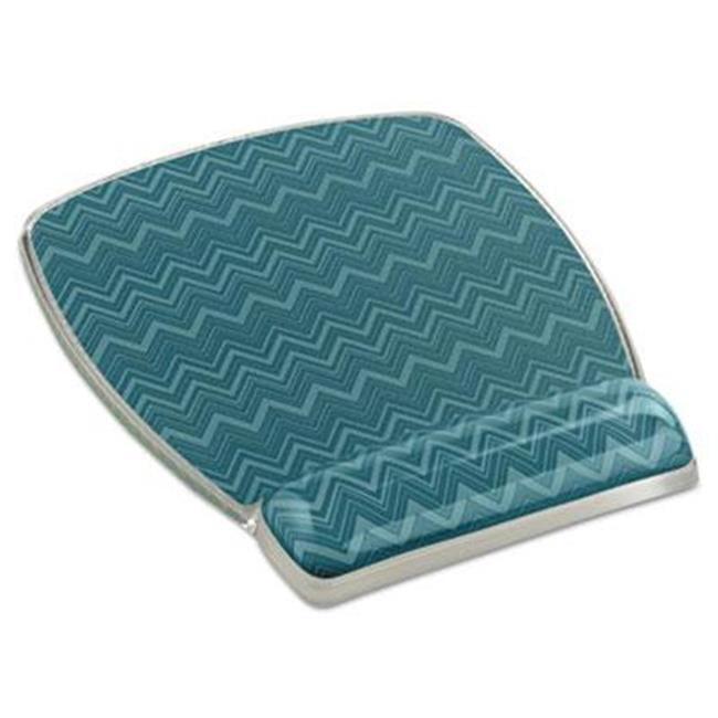 Fun Design Clear Gel Mouse Pad Wrist Rest