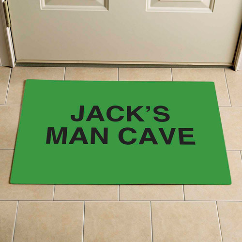 "Personalized Any 3-Line Message Doormat, 17"" x 27"""