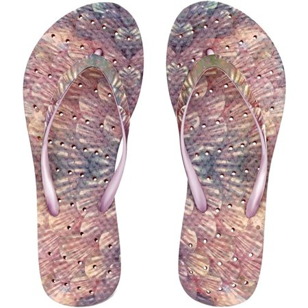 Showaflops Women's Antimicrobial Shower and Water Sandals - Mermaid