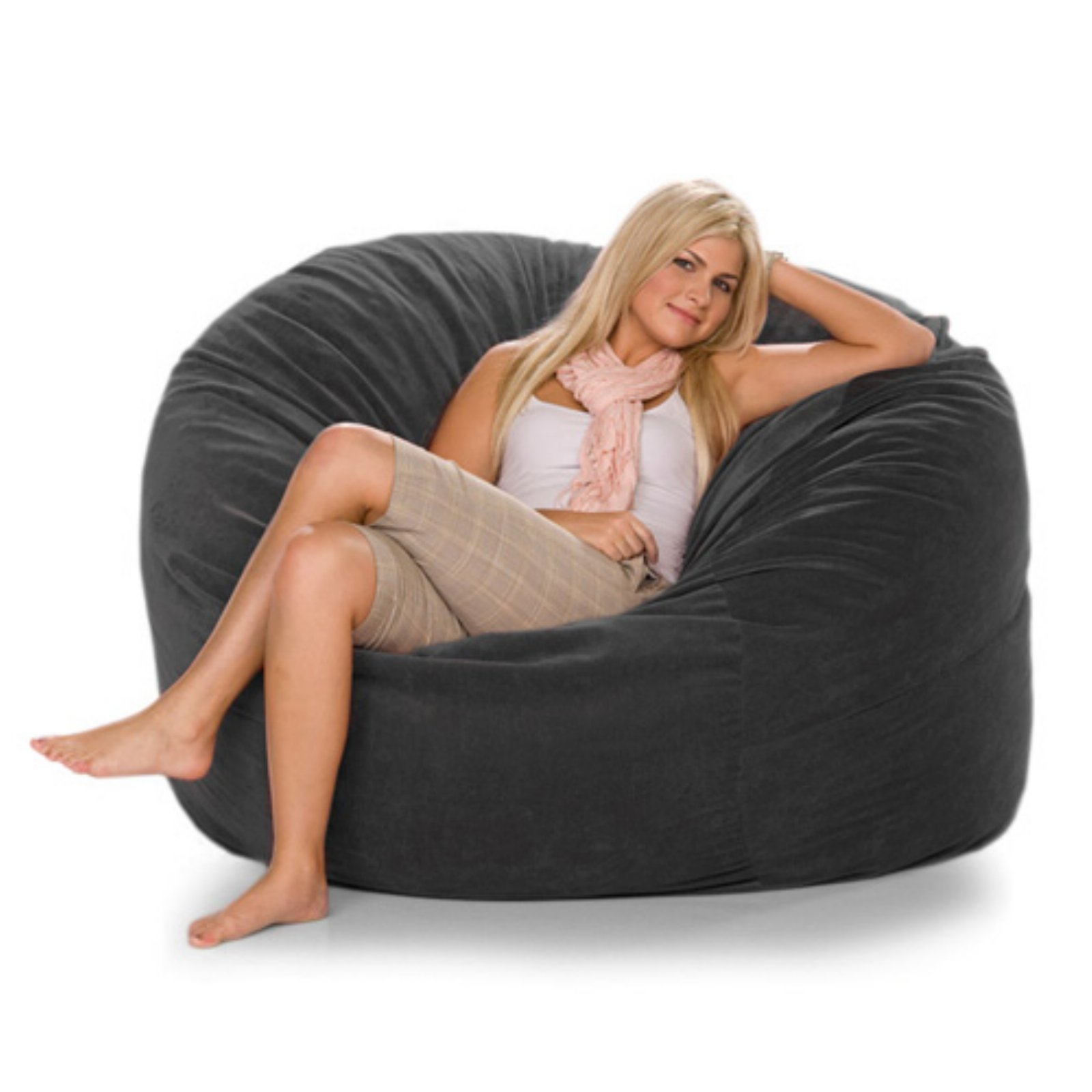 Jaxx Metro Sac - Microsuede Small Foam Sofa