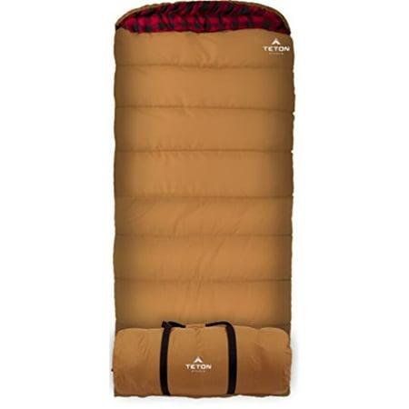 Teton Sports Deer Hunter 35f Sleeping Bag Sub 0 Degree Great For