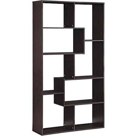 Home 8 Shelf Bookcase Display Bookshelf Book Stand Artwork Cube Tall White Large