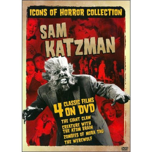 Icons Of Horror Collection - Sam Katzman: Giant Claw / Zombies Of Mora Tau / Creature With The Atom Brain / The Werewolf (Full Frame, Widescreen)