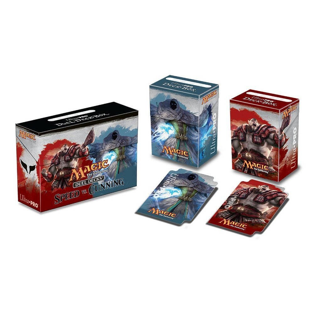 Magic The Gathering Speed vs Cunning Duel Deck Box, 1 Large Duel Deck Box By Ultra Pro by