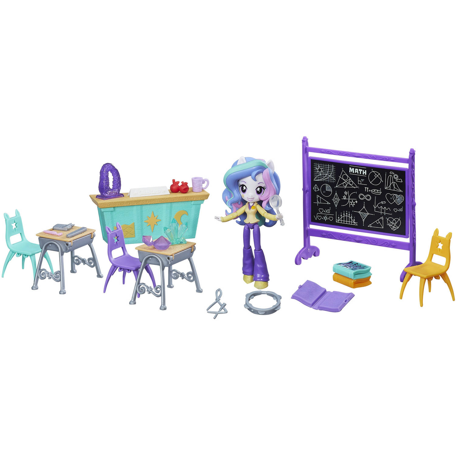 My Little Pony Equestria Girls Minis Lessons and Laughs Class Set