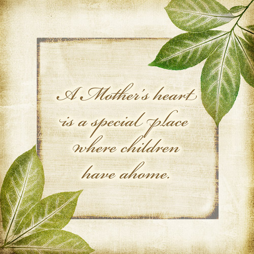 A Mother's Child I, Set of 2