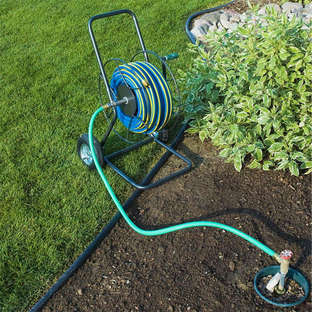 Yard Butler Portable 200 Foot Capacity Steel Garden