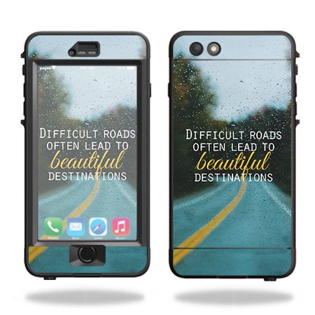 Skin For Lifeproof Nuud iPhone 6s Plus Case – Difficult Roads | MightySkins Protective, Durable, and Unique Vinyl Decal wrap cover | Easy To Apply, Remove, and Change Styles | Made in the