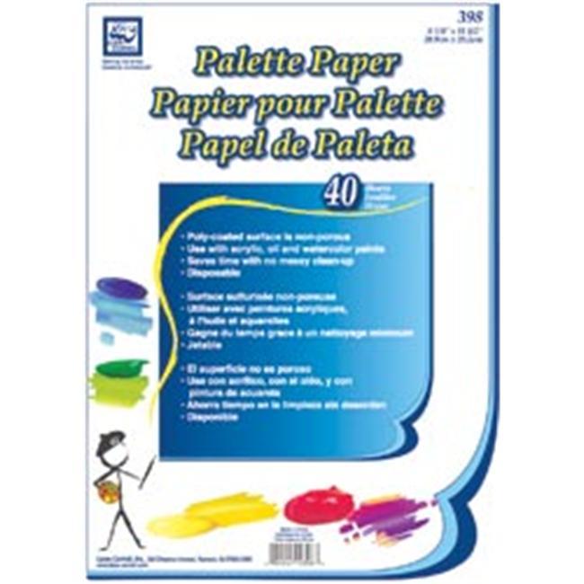 Loew-Cornell 85473 Palette Paper Pad 8. 25 inch x 11. 5 inch 40 Sheets-Pkg