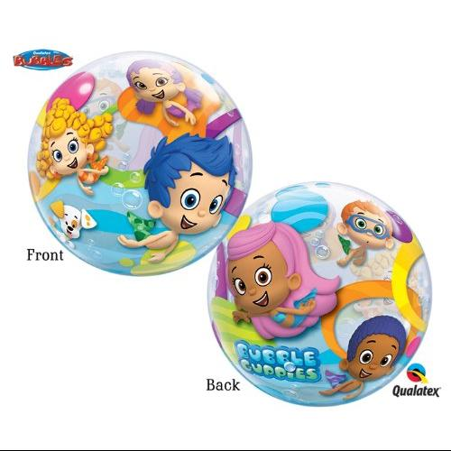 Ballooneys~Bubble Guppies 22 inch Bubble Balloon Multi-Colored