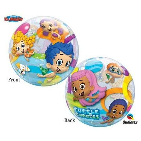 Ballooneys~Bubble Guppies 22 inch Bubble Balloon Multi-Colored - Bubble Guppies Balloon