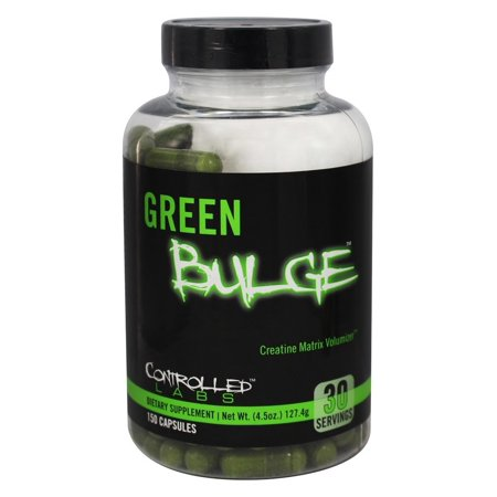 Controlled Labs - Green Bulge Matrice de Créatine Volumizer - 150 Capsules