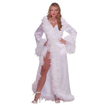 HOLLYWOOD MARABOU SATIN ROBE](West Hollywood Halloween)