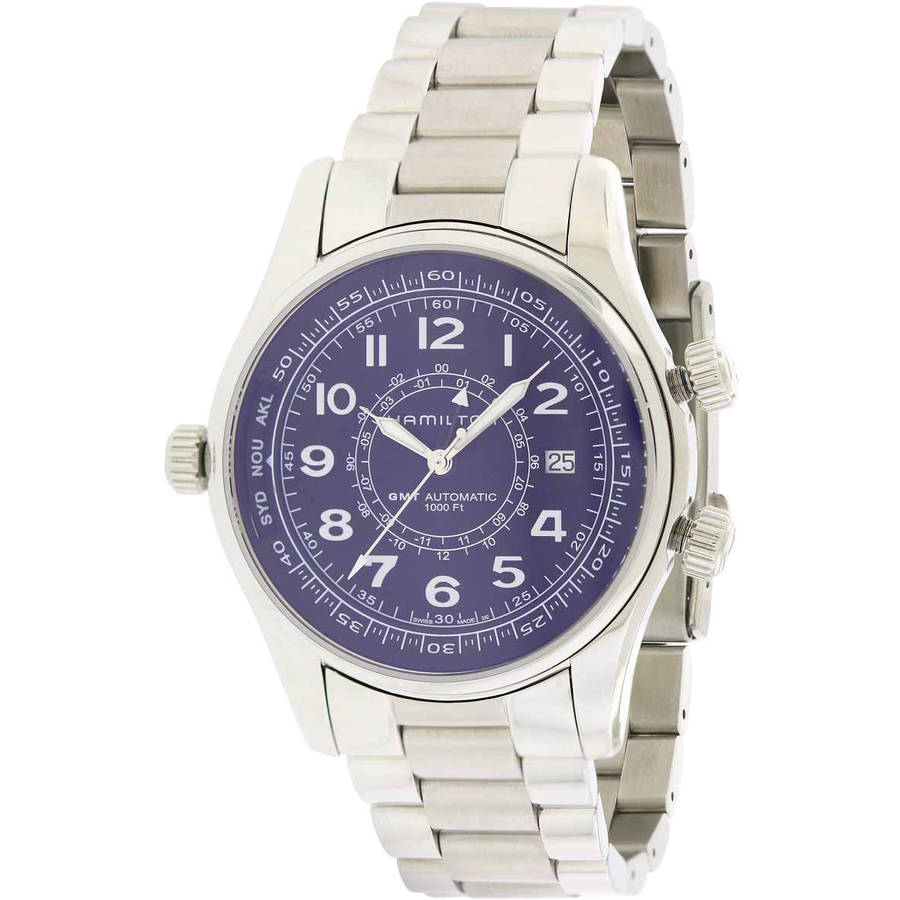 Hamilton Khaki Navy UTC Automatic Chronograph Stainless Steel Men's Watch, H77505133 by Hamilton