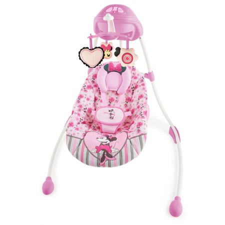 Disney Baby Minnie Mouse Precious Petals Swing - Walmart.com