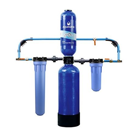 aquasana 10-year, 1,000,000 gallon whole house water filter with professional installation