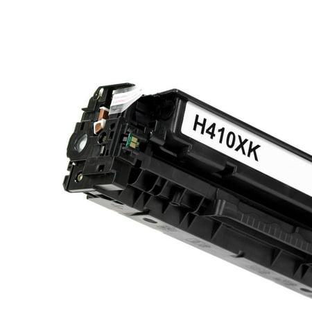 Moustache Remanufactured HP 305X CE410X Black Toner Cartridge for LaserJet Pro 300 Color M351A MFP M375nw /LaserJet Pro 400 Color M451 series MFP M475 M475dn M451dn M451dw MFP M451nw M475dw - image 3 de 5