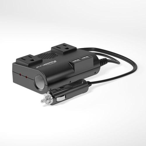 Original Power Powerline 200W DC to AC Inverter with 2 USB Ports