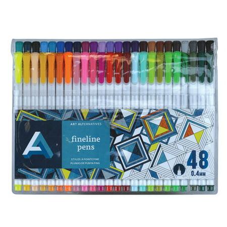 Art Alternatives Studio (Art Alternatives - Fineline Pen Set - 12-Color Set )