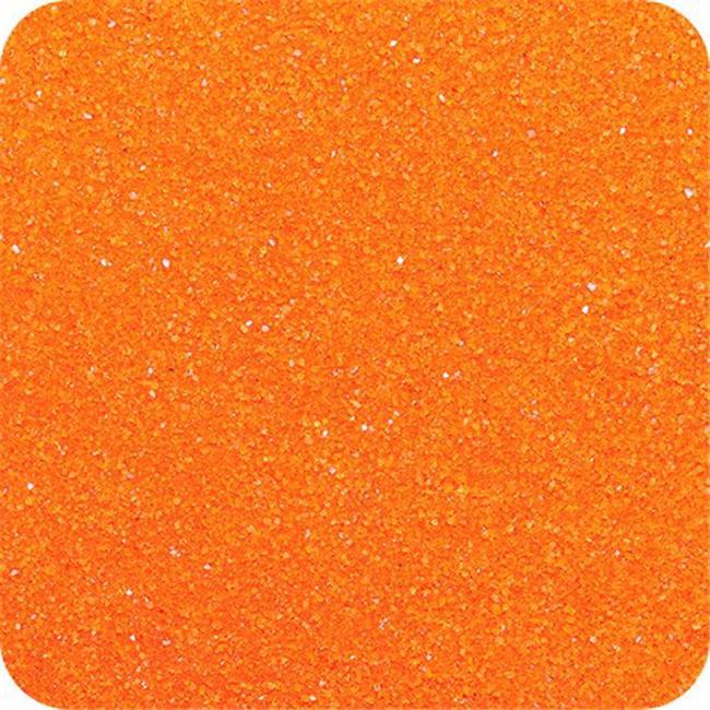 Classic Colored Sand 14 oz. Bottle - Shake & Pour Lid - Orange