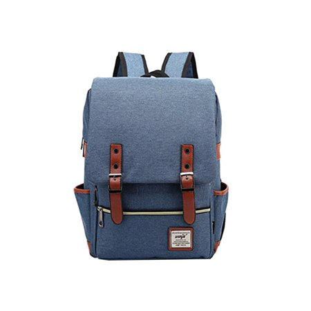 7 Colors Fashion Backpacks Canvas Classic Laptop Bag School Backpack Unisex  Travel Bags Satchels Men Women Christmas Gifts - Walmart.com 08ce731affda0