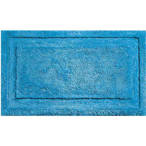 "InterDesign Microfiber Spa Non-Slip Bathroom Shower Rug, 34"" x 21"""