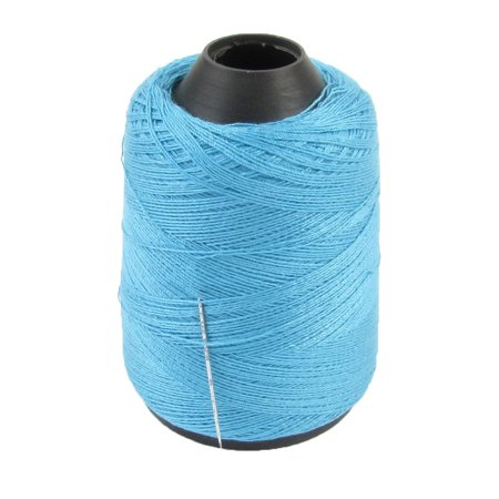 Cotton Reels (Unique Bargains Light Blue Cotton Stitching Sewing Thread Reel Spool for Tailor )